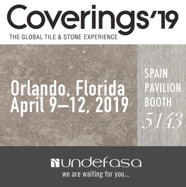 COVERINGS 2019